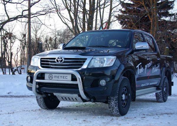 Frontschutzbügel Kuhfänger Bullfänger Toyota Hi-Lux 2006-2010, EuroBar 70mm Edelstahl