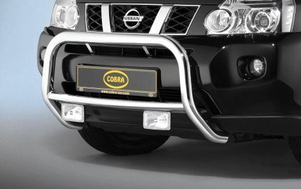 Frontschutzbügel Kuhfänger Bullfänger Nissan X-Trail 2007-2010, Frontbügel 60mm Edelstahl