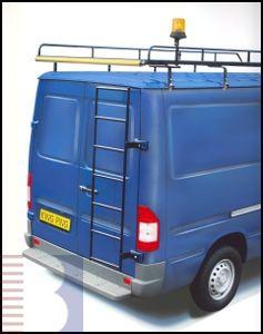 King Ping Türleiter z. Scharnierbefestigung, Renault Trafic H1 Länge: 150 cm