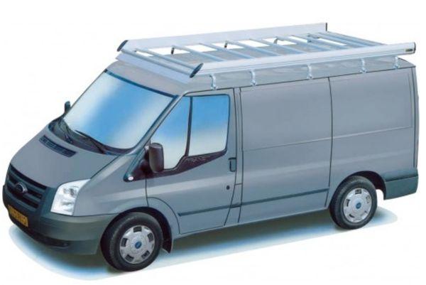 King Ping Dachträger, Gewerbe Transporter für Ford Transit, Radstand 3750mm, Hochdach, Bj. 2000-