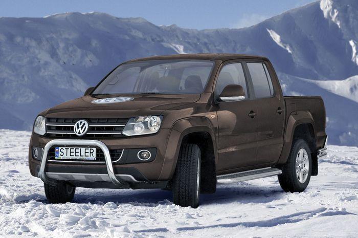 Frontschutzbügel Kuhfänger Bullfänger VW Amarok 2010-2016, Steelbar 70mm