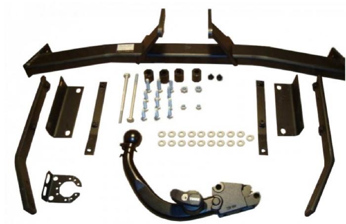 Anhängelast erhöhen Nissan Juke 2WD, 2010- (horizontale AHK incl. Gutachten)