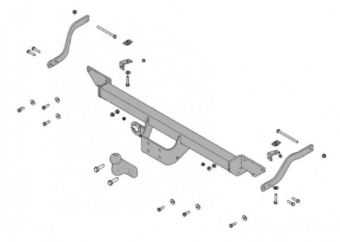 Anhängelast erhöhen Peugeot Boxer III Kasten/Bus/Kombi/Pritsche, 06. 2006- (feststehende AHK incl. Gutachten)