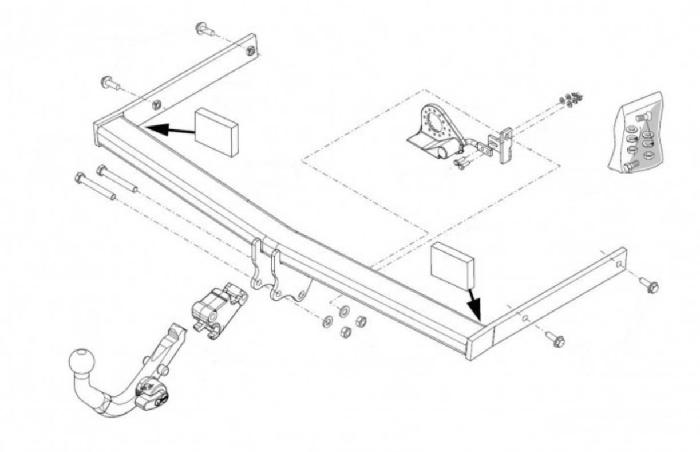 Anhängelast erhöhen Skoda Octavia Typ 1Z, 2005- (horizontal abnehmbare AHK incl. Gutachten)