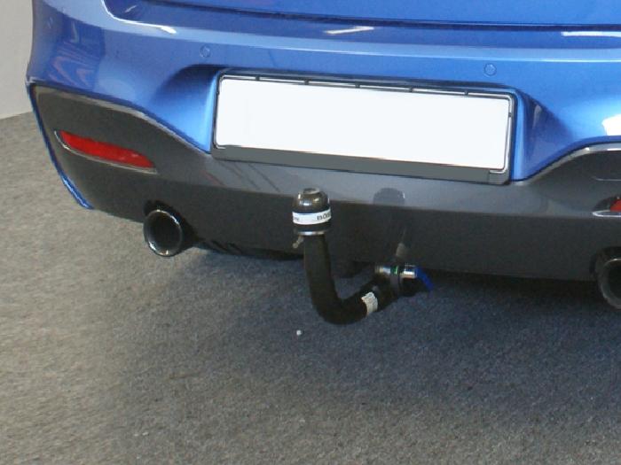 Anhängerkupplung für BMW-2er - 2016- F23 Cabrio, speziell M240i xDrive nur für Heckträgerbetrieb, Montage nur bei uns im Haus Ausf.:  vertikal