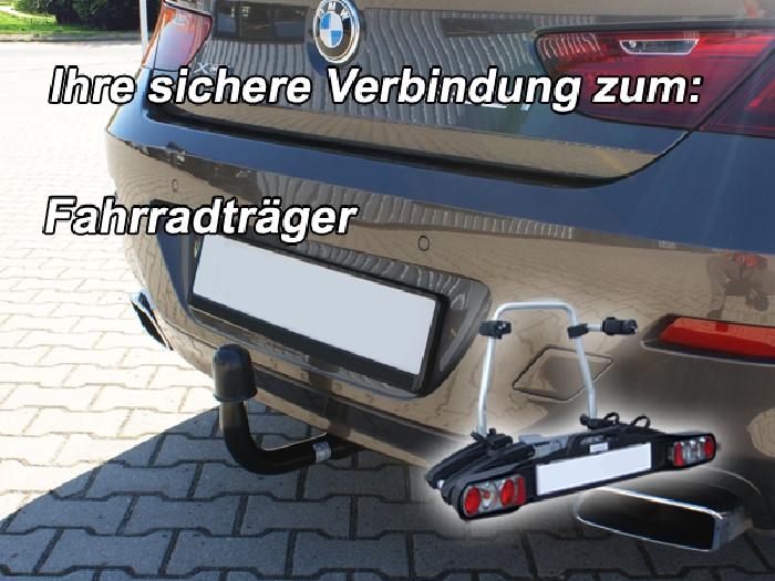 Anhängerkupplung BMW 6er Coupe F13, Anhängelastfreigabe prüfen, ohne nur für Heckträgerbetrieb, Montage nur bei uns im Haus, Baureihe 2011-2015  vertikal