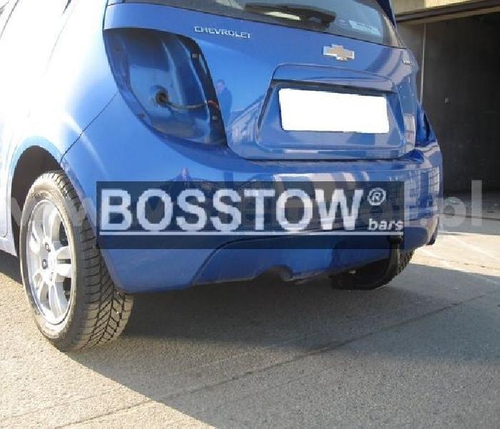 Anhängerkupplung für Chevrolet-Aveo - 2011- Limousine Ausf.:  vertikal
