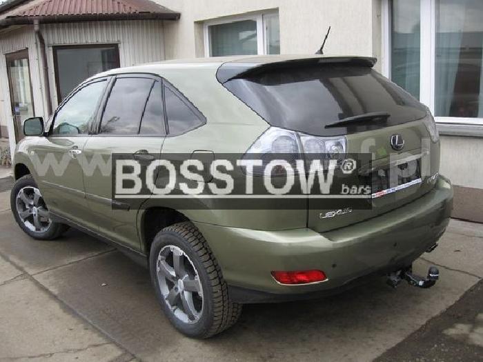 Anhängerkupplung für Lexus-RX - 2006-2009 350 Ausf.:  feststehend