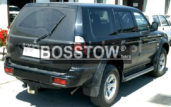 Anhängerkupplung für Mitsubishi-Pajero - 1998- Sport Ausf.:  feststehend
