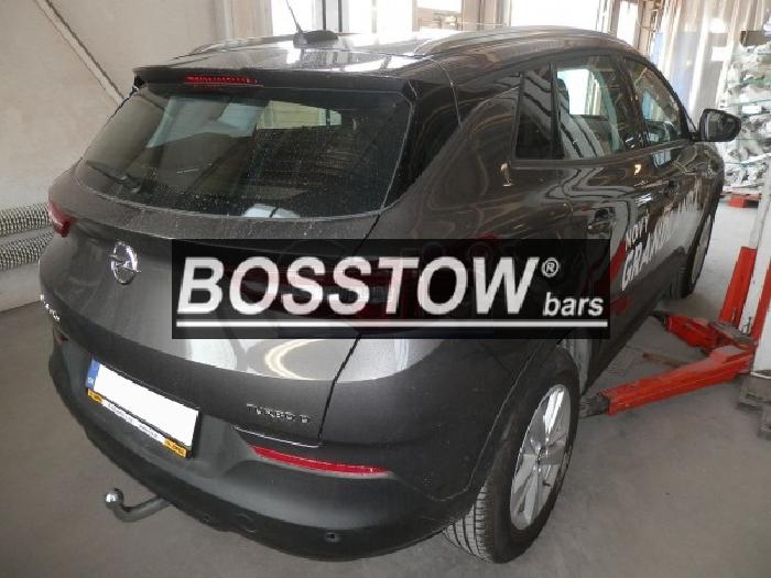 Anhängerkupplung für Opel-Grandland X - 2017- ohne Elektrosatzvorbereitung Ausf.:  feststehend