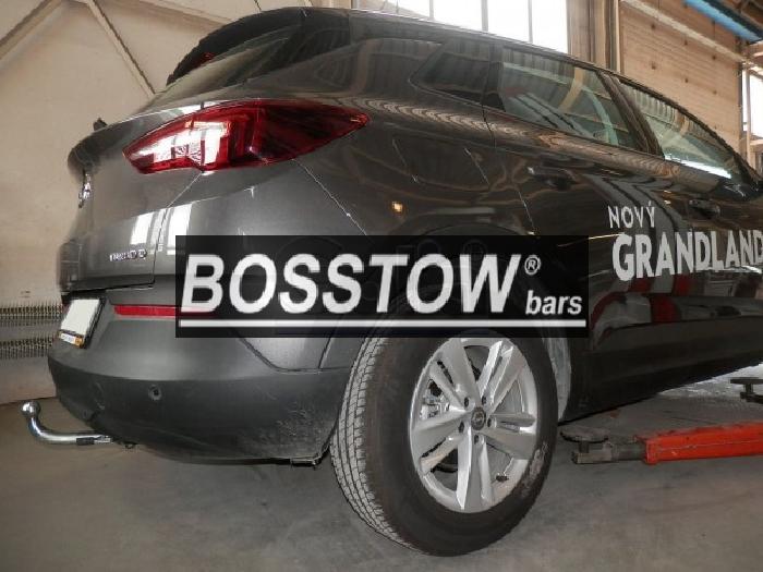 Anhängerkupplung für Opel-Grandland X - 2017- mit Elektrosatzvorbereitung Ausf.:  horizontal