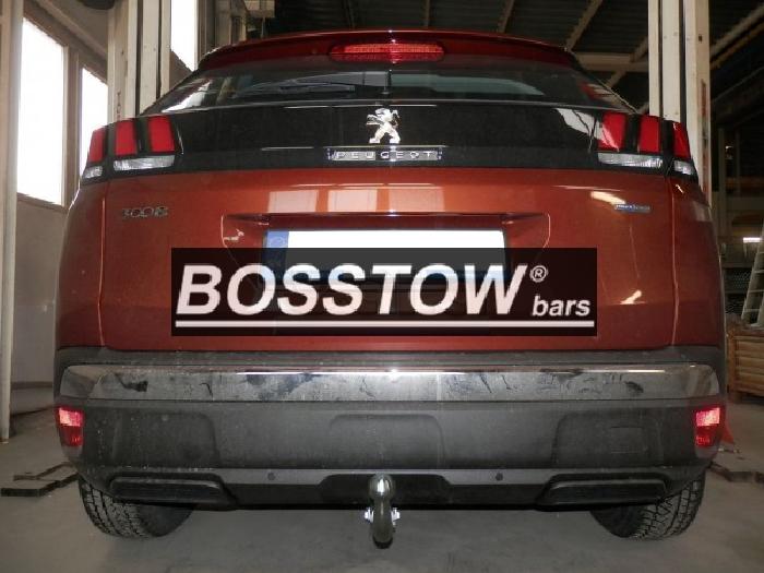 Anhängerkupplung für Peugeot-3008 - 2016- Fzg. ohne Esatz Vorbereitung Ausf.:  feststehend