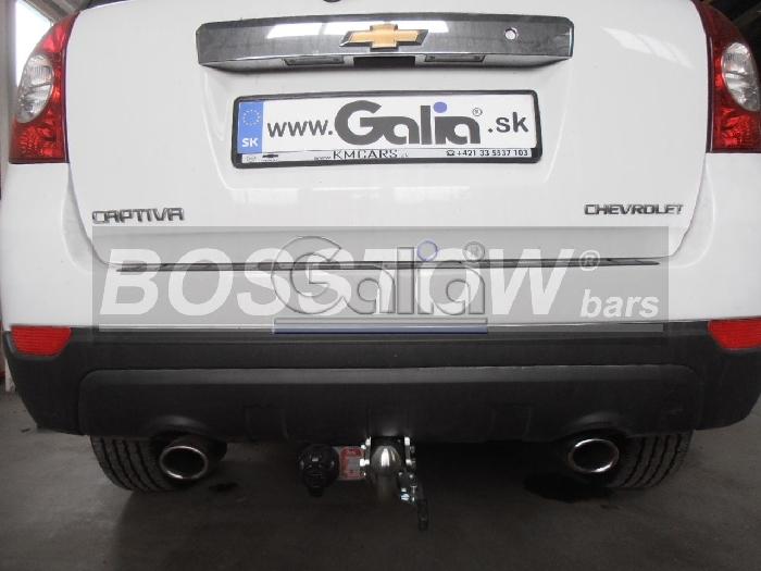 Anhängerkupplung für Chevrolet-Captiva - 2006-2012 Fzg. mit Elektrosatz Vorbereitung Ausf.:  feststehend