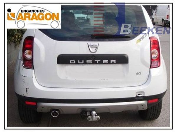 Anhängerkupplung für Dacia-Duster - 2013-2017 SUV 2WD und 4WD Ausf.:  feststehend