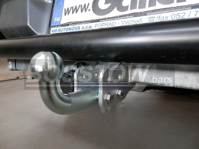 Anhängerkupplung für Ford-Ranger - 2016- 4x4 WD m. Trittbrett f. Fahrzeuge mit Elektrosatz Vorbereitung Ausf.:  feststehend