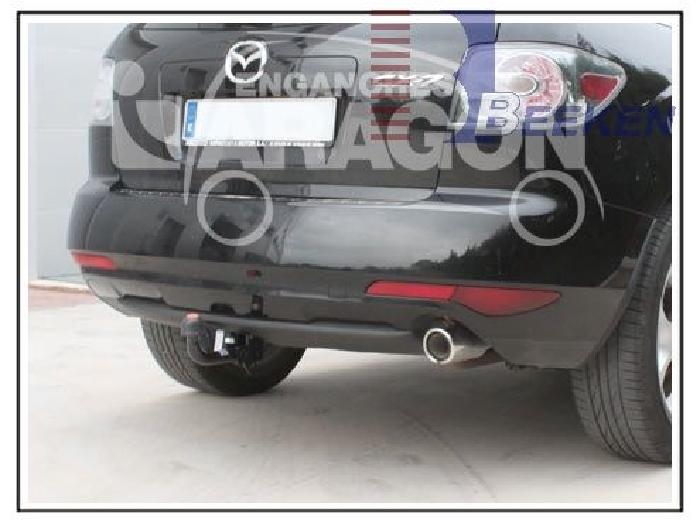 Anhängerkupplung für Mazda-CX- 7 - 2007-2009 SUV Ausf.:  feststehend