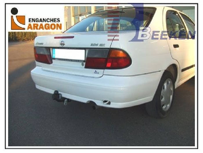 Anhängerkupplung für Nissan-Almera - 1995-2000 N15, Limousine Ausf.:  feststehend