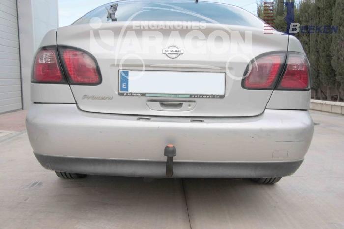 Anhängerkupplung für Nissan-Primera - 1999-2002 P11, Fließheck Ausf.:  feststehend