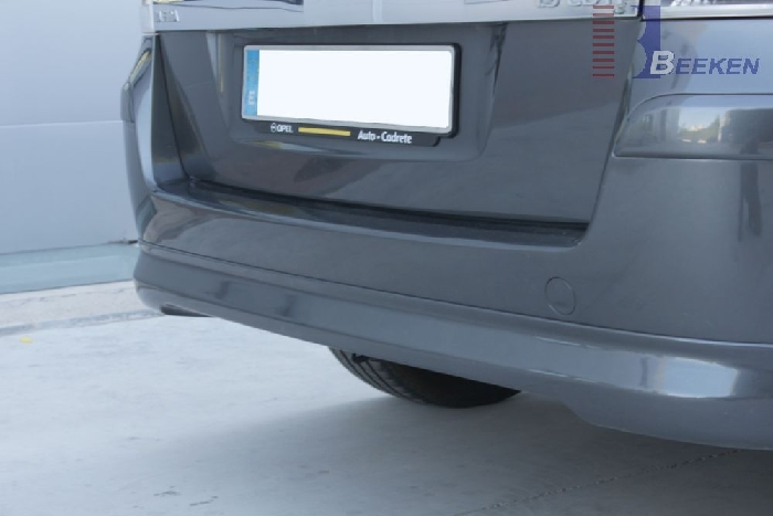 Anhängerkupplung für Opel-Zafira - 2005-2015 B, Van, CNG- Modelle, Fzg. mit REC Ausf.:  vertikal