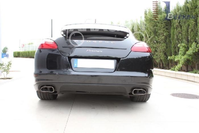 Anhängerkupplung für Porsche-Panamera - 2009-2013 Fließheck, Dieselmotor Ausf.:  vertikal