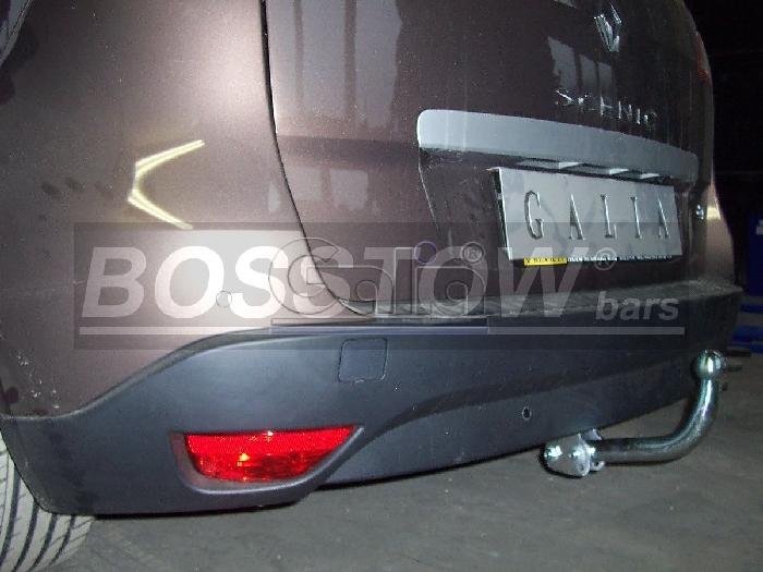 Anhängerkupplung für Renault-Scenic - 2013-2016 Scenic XMOD Ausf.:  feststehend