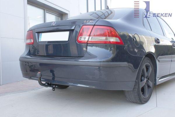 Anhängerkupplung für Saab-9-3 - 2002- Limousine Sport Ausf.:  feststehend