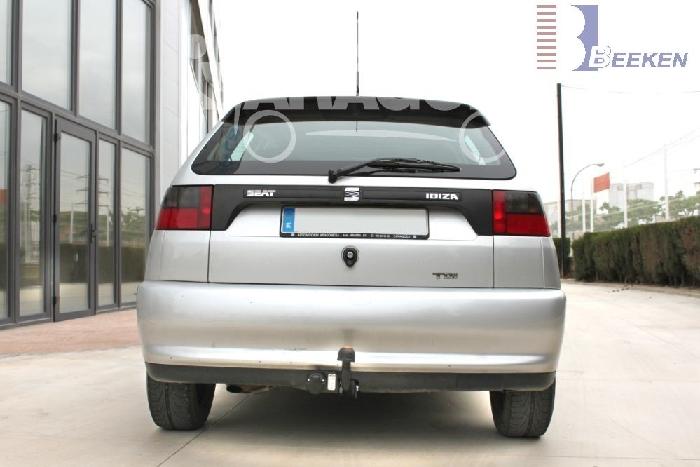 Anhängerkupplung für Seat-Ibiza - 1996-1999 Fließheck, nicht Cupra, GLX, GTI Ausf.:  feststehend