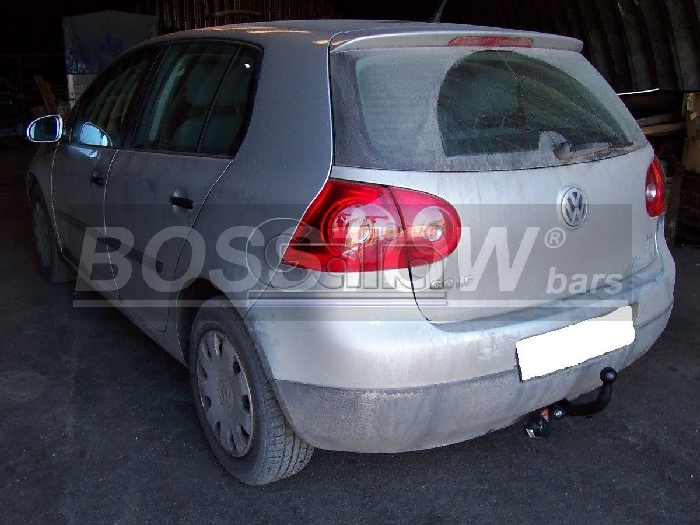 Anhängerkupplung für VW-Golf - 2008- VI Plus Ausf.:  feststehend