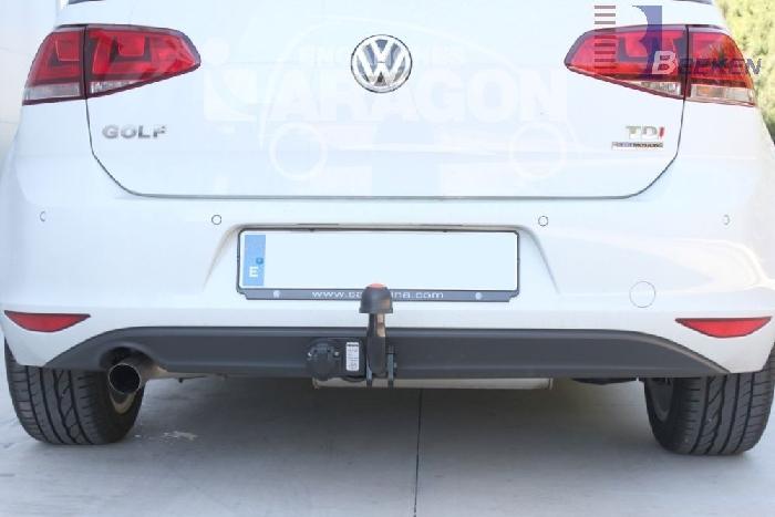 Anhängerkupplung VW Golf VII Limousine, nicht 4x4, Baureihe 2014-2017  feststehend