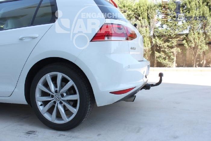 Anhängerkupplung für VW-Golf - 2013-2018 VII Sportsvan Ausf.:  feststehend