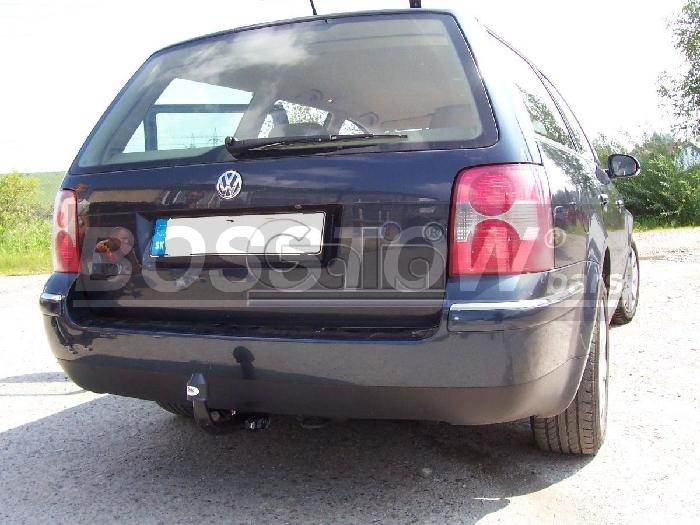 Anhängerkupplung für VW-Passat - 2000- 3b, 4-Motion, Limousine Ausf.:  feststehend