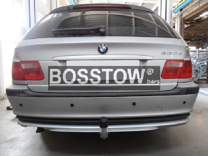 Anhängerkupplung für BMW-3er - 1998-2005 Limousine E46 Ausf.:  feststehend