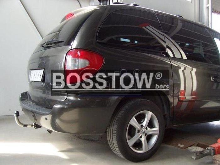 Anhängerkupplung für Chrysler-Grand Voyager - 2001-2008 nicht 4x4 Ausf.:  horizontal
