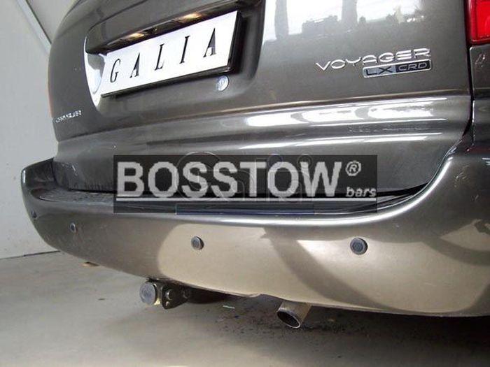 Anhängerkupplung für Chrysler-Grand Voyager - 2001-2008 nur 4x4 Ausf.:  horizontal