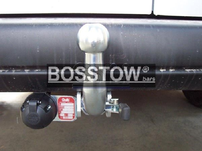 Anhängerkupplung für Peugeot-Partner - 2008-2018 Kasten/ Bus/ Kombi, Gesamtlänge: 4628mm Ausf.:  horizontal