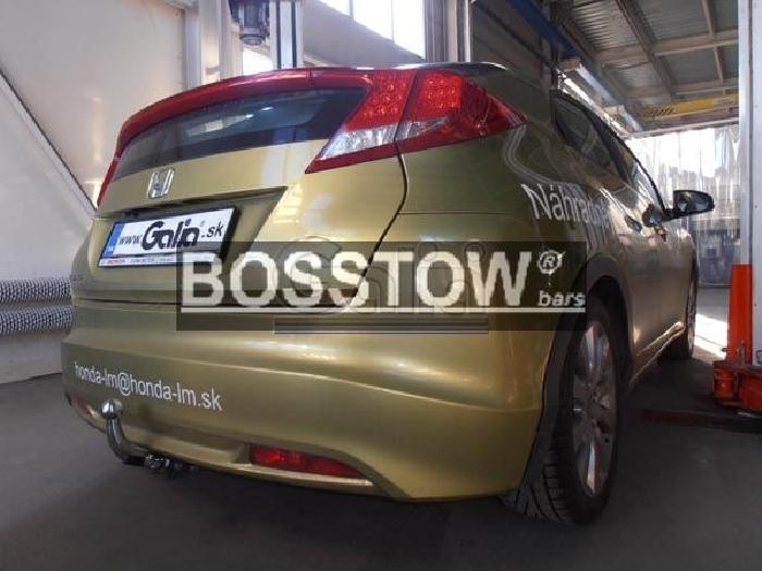 Anhängerkupplung für Honda-Civic - 2012-2015 5-türig, Fließh. Ausf.:  horizontal