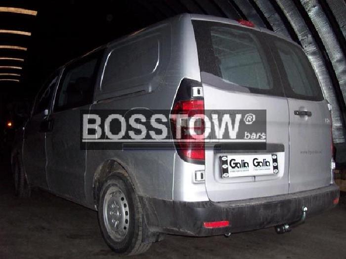 Anhängerkupplung für Hyundai-H-300 - 2008- (TQ) Kastenwagen Ausf.:  horizontal