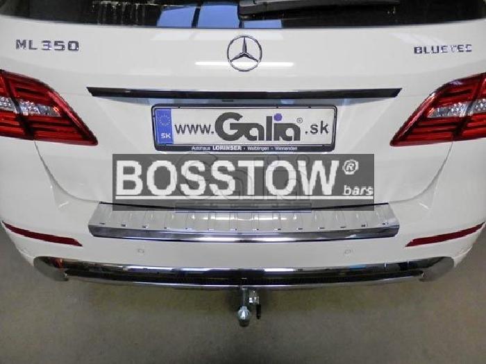 Anhängerkupplung für Mercedes-M-Klasse - 2011- W166 Ausf.:  horizontal
