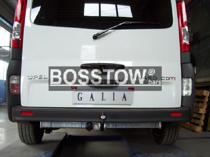 Anhängerkupplung für Nissan-Primastar - 2006-2008 Ausf.:  feststehend