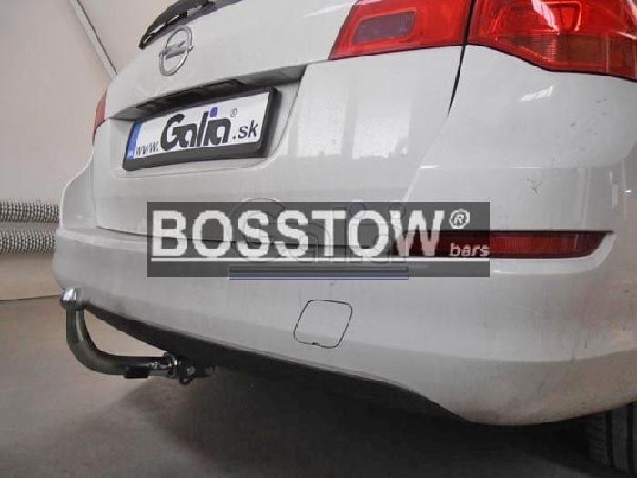Anhängerkupplung für Opel-Astra - 2012- J, Stufenheck Ausf.:  horizontal