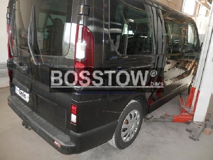 Anhängerkupplung für Opel-Vivaro - 2014- Kasten/ Bus/ Kombi Ausf.:  horizontal