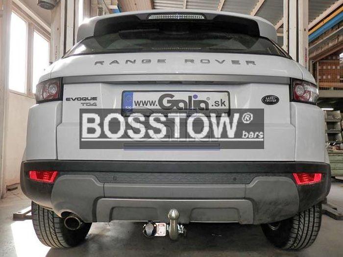 Anhängerkupplung Landrover Range-Rover Evoque, Baureihe 2011-2019  horizontal