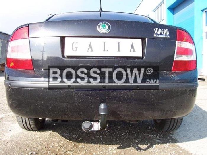 Anhängerkupplung für Skoda-Superb - 2001-2008 Superb I Limousine Ausf.:  feststehend