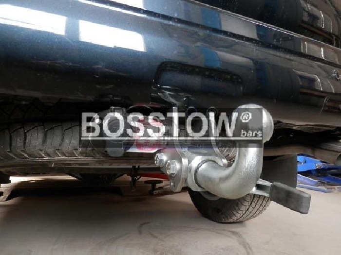 Anhängerkupplung für Toyota-Landcruiser - 2003- 120 (J12), 3-türig Ausf.:  horizontal