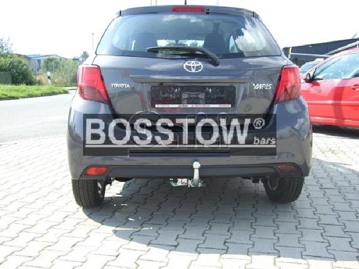 Anhängerkupplung für Toyota-Yaris - 2014- Fließheck, nicht Hybrid Ausf.:  horizontal