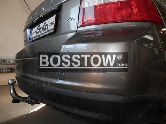 Anhängerkupplung für Volvo-V70 - 2007-2016 Kombi, ohne Niveauregulierung Ausf.:  horizontal