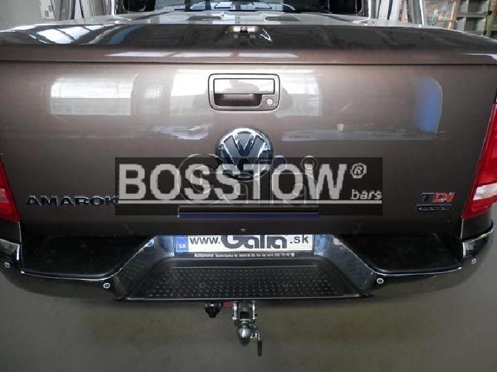 Anhängerkupplung für VW-Amarok - 2010- Pick-up Ausf.:  horizontal