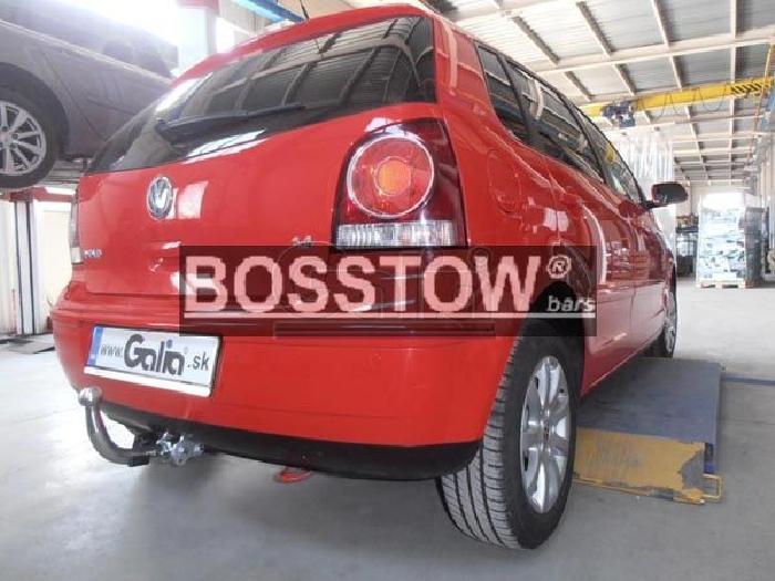 Anhängerkupplung für VW-Polo - 2005- (9N) Fun Ausf.:  horizontal