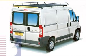 King Ping Dachträger, Gewerbe Transporter für Citroen Jumper Radstand 4040mm, hohes Dach, Bj. 2006-