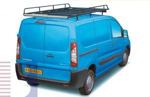 King Ping Dachträger, Gewerbe Transporter für Citroen Jumpy Radstand 3120mm, Bj. 2007-